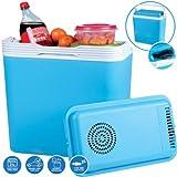 Oypla 24L 240V AC & 12V DC Coolbox Hot Cold Portable Electric Cool Box
