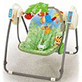 "Fisher-Price M6710 Baby Gear - Rainforest Babyschaukel f�r unterwegsvon ""Mattel"""