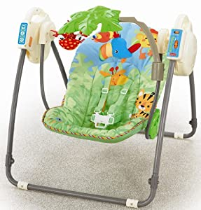 Fisher price m6710 altalena della foresta sempre con te for Altalena amazon