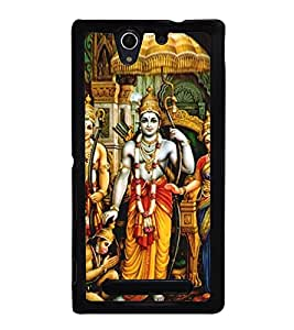 Bhagwan Ram 2D Hard Polycarbonate Designer Back Case Cover for Sony Xperia C3 Dual :: Sony Xperia C3 Dual D2502