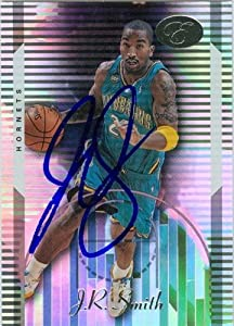 J.R. Smith Autographed Hand Signed Basketball Card (New Orleans Hornets) 2006 Bowman...