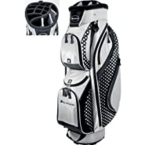 Orlimar Flair Series 14.9 Cart Bag (Silver/Black and White with Polka Dots)