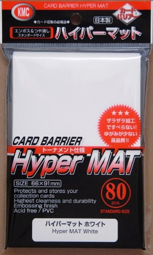 Hyper Matte Sleeves (80-Pack), White