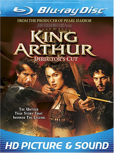 Cover art for  King Arthur (Director's Cut) [Blu-ray]