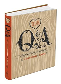 Our Q Amp A A Day 3 Year Journal For 2 People Potter Style border=
