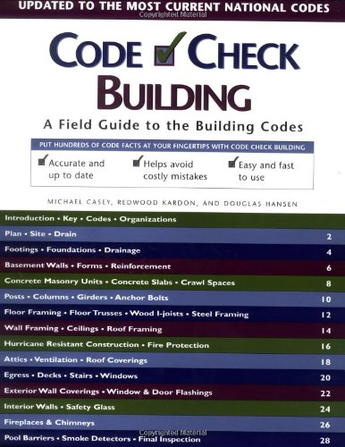 Code Check Building - 1st Edition - Taunton Press - RC-T070726 - ISBN: 1561585955 - ISBN-13: 9781561585953