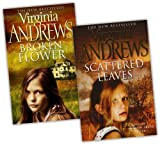 Virginia Andrews Virginia Andrews Early Spring 2 Books Collection Pack Set (Broken Flower, Scattered Leaves)
