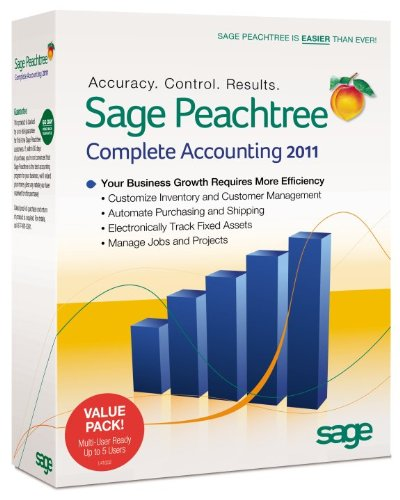 Sage Peachtree Complete Accounting 2011 Multi User [OLD VERSION]
