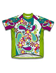 Groovy Short Sleeve Cycling Jersey for Women