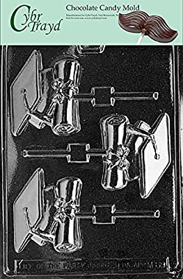Cybrtrayd Cap and Diploma Lolly Miscellaneous Chocolate Candy Mold