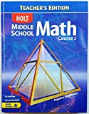 img - for Holt Middle School Math, Course 2: Algebra Readiness, Teacher's Edition by Jennie M. Bennett (2004-01-01) book / textbook / text book