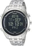 Pulsar Men's PQ2043 Digital Silver-Tone Stainless Steel Watch