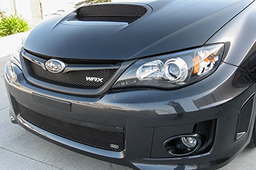 GrillCraft SUB1736B MX Series Black Lower 1pc Mesh Grill Grille Insert for Subaru Impreza WRX (2014 Wrx Grill compare prices)