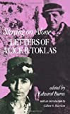 Staying on Alone: Letters of Alice B. Toklas