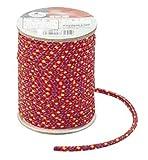 キャプテンスタッグ テント カラー テント ロープΦ3.5mm×20m レッド M-3255