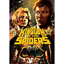 Kingdom of the Spiders [VHS Retro Style DVD] 1977