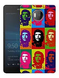 "Humor Gang Che Guevara Retro Printed Designer Mobile Back Cover For ""Nokia Lumia 950 XL"" (3D, Matte, Premium Quality Snap On Case)"