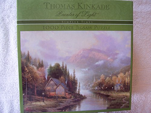 Thomas Kinkade Painter of Light Puzzle-Simpler Times