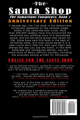 The Santa Shop, Anniversary Edition: Expanded, reimagined, and includes an extended ending written for Hallmark Studios: Volume 1 (The Samaritans Conspiracy)