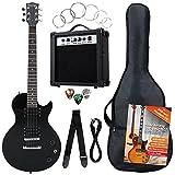 Rocktile Banger's Pack Komplettset E-Gitarre Single Cut Schwarz