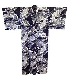 Koi design Kimono Yukata XLarge Size #TK294L