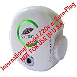 GT50-EU 220v Euro-Plug Professional-Grade Plug-In Adjustable Ionic Air Purifier (INT'L. MODEL-NOT FOR USA)