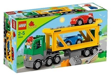 LEGO DUPLO - LEGOville - 5684 - Jouet Premier Age - Le Transporteur de Voitures