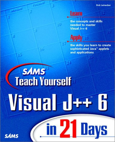 Sams Teach Yourself Visual J++ 6 in 21 Days
