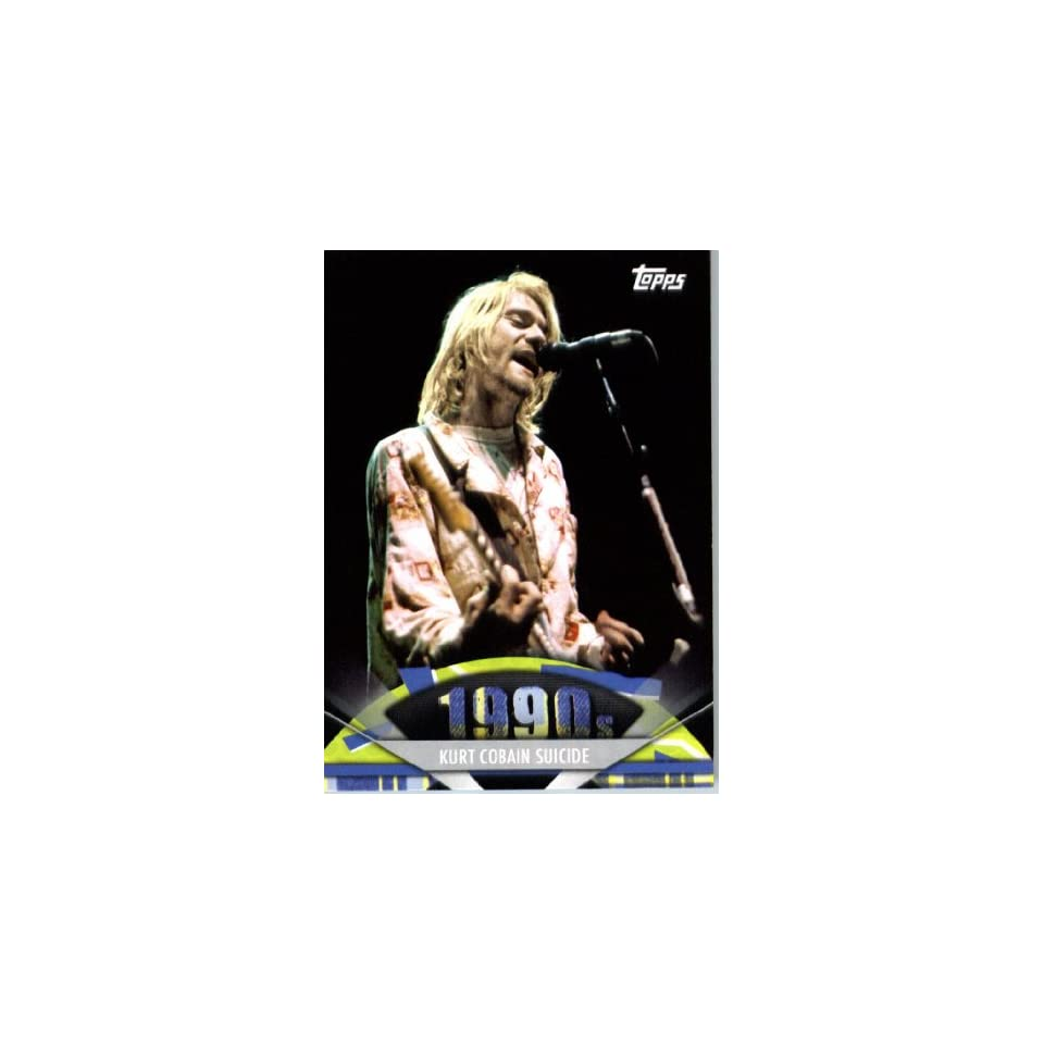 2011 Topps American Pie Card #170 Kurt Cobain Suicide   ENCASED Trading Card at 's Sports Collectibles Store