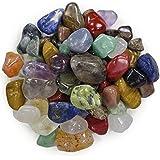 Natural Tumbled Stone Mix - 25 Pcs - Small Size - 0.75