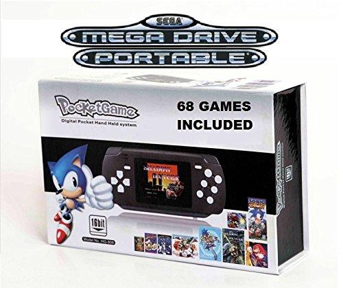 console-portable-sega-megadrive-avec-port-cartouche-et-branchement-tv-68-jeux-inclus