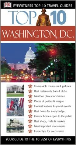 Washington, D.C. (Eyewitness Top 10 Travel Guides)