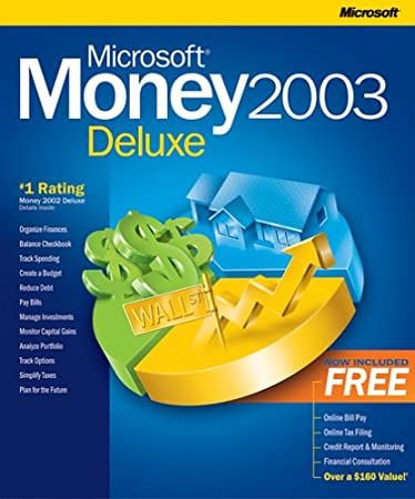 Microsoft Money 2003 Deluxe [OLD VERSION]