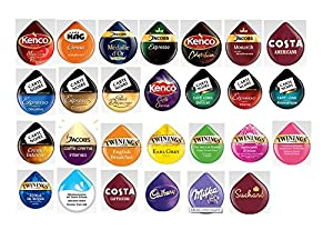 Buy Tassimo T Discs (PODS) 'variety' Selection Pack - 27 Drinks / 30 PODs - Kraft Foods