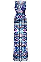 G2 Chic® Women's Summer Tribal Printed Maxi Dress