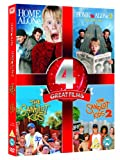 Home Alone/ Home Alone 2/ The Sandlot Kids/ The Sandlot Kids 2 [DVD] [1990]