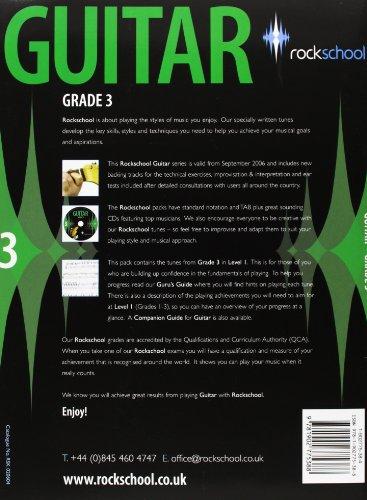 Rockschool Guitar Grade 3 (2006-2012)