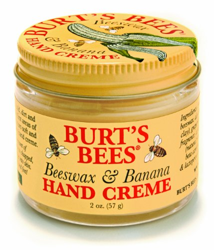 Burt s Bees Hand Creme Beeswax and Banana -- 2 fl ozB0006FRWMI