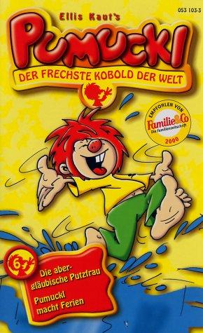 Meister Eder und sein Pumuckl 6: Die abergläubische Putzfrau/Pumuckl macht Ferien [VHS]