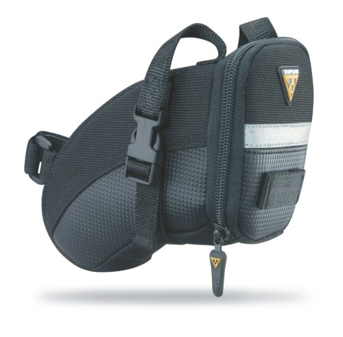 Review Aero Wedge Pack, w/ strap mount, Small
