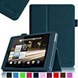 Fintie Folio Case for Acer Iconia A1-810 7.9 -Inch Tablet Slim Fit With Stylus Holder - Navy