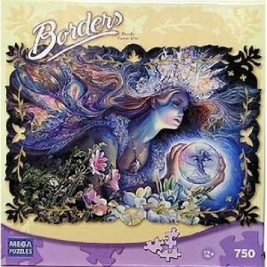 "Borders 750 Piece Puzzle - ""Princess of Light"" By Mega Brands"