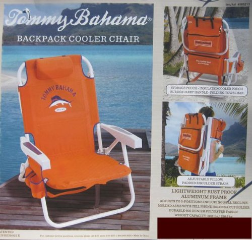 Tommy Bahama Backpack Storage Capacity Orange