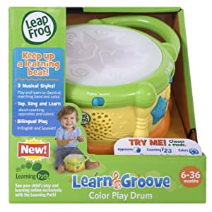 Toy / Game LeapFrog Learn and Groove Color Play Drum w