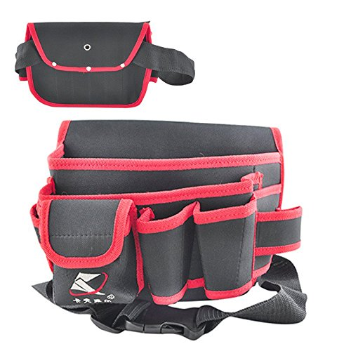 2016 Hot Sale 9 Pocket Professional Electrician Tool Belt Pouch Durable Extra Strong