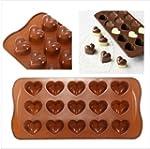 FamilyMall(TM) Heart-shape Silicone I...