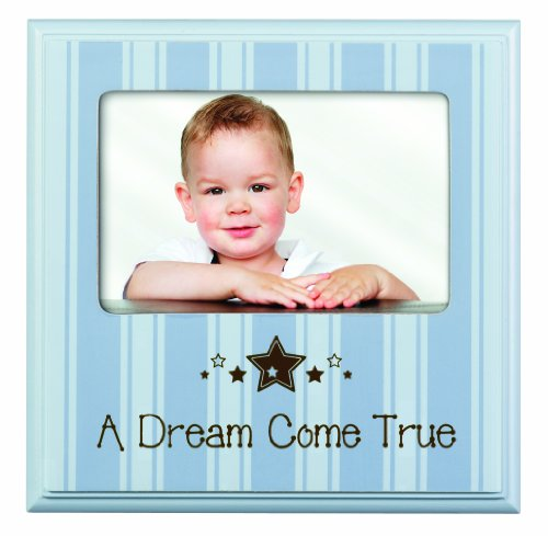 Prinz 6 by 4-Inch A Dream Come True Blue Wood Frame