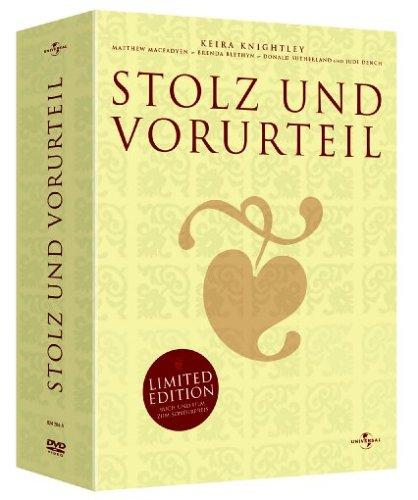 Stolz und Vorurteil (DVD + Buch) [Limited Edition]