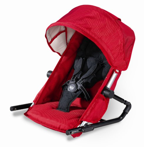 Britax Second Seat For B-Ready Stroller, Red front-833860