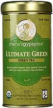 Zhena39s Gypsy Tea Ultimate Green Green Tea 22 Count Tea Sachet